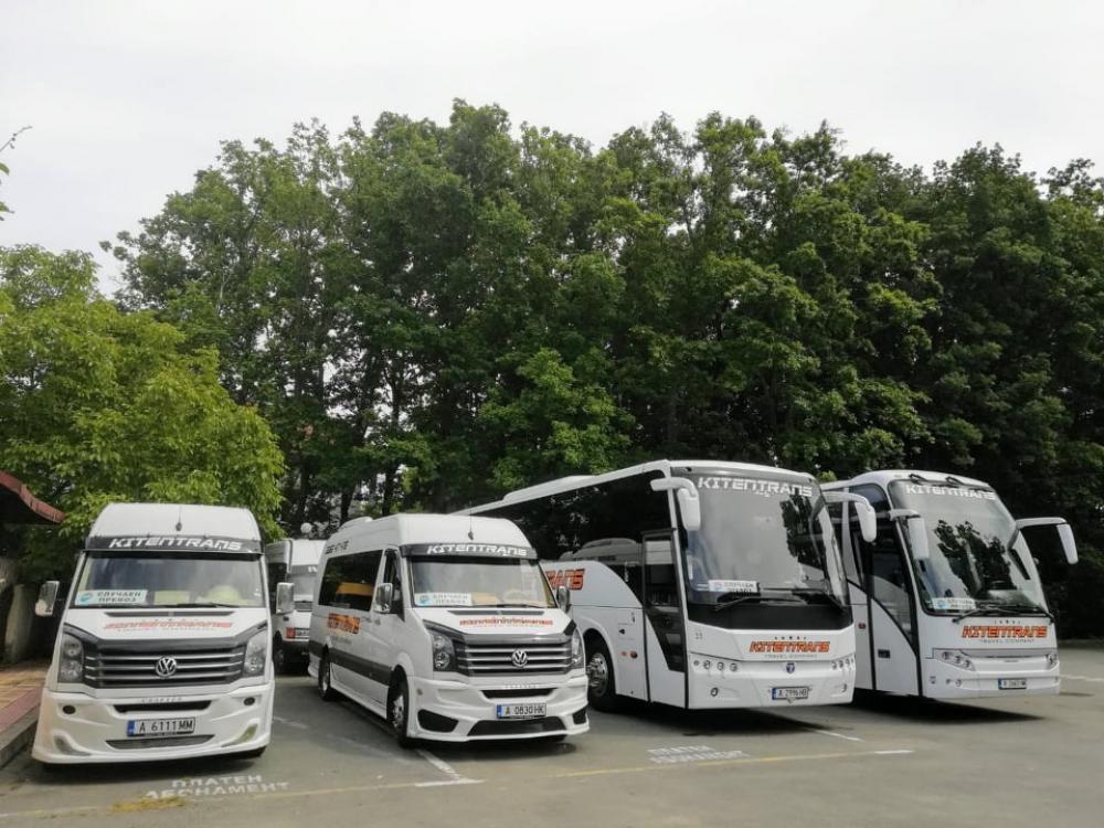 Транспортни услуги,  Логистика - Автобусни превози КИТЕНТРАНС