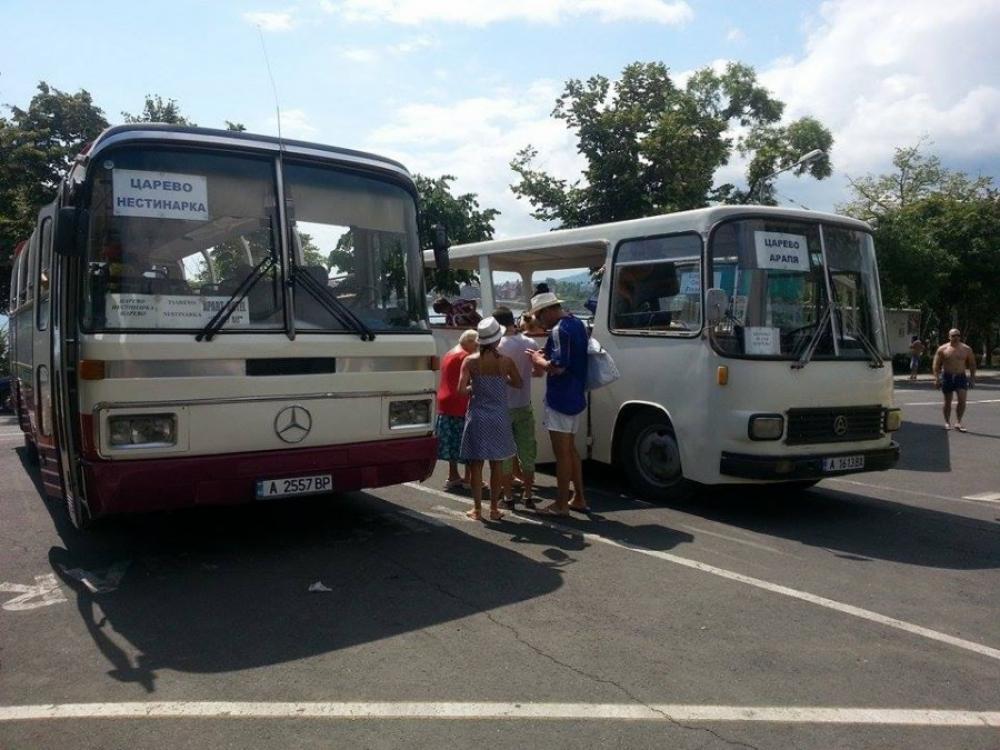 Транспортни услуги,  Логистика - Разписание автобуси Царево-Арапя Царево-Нестинарка